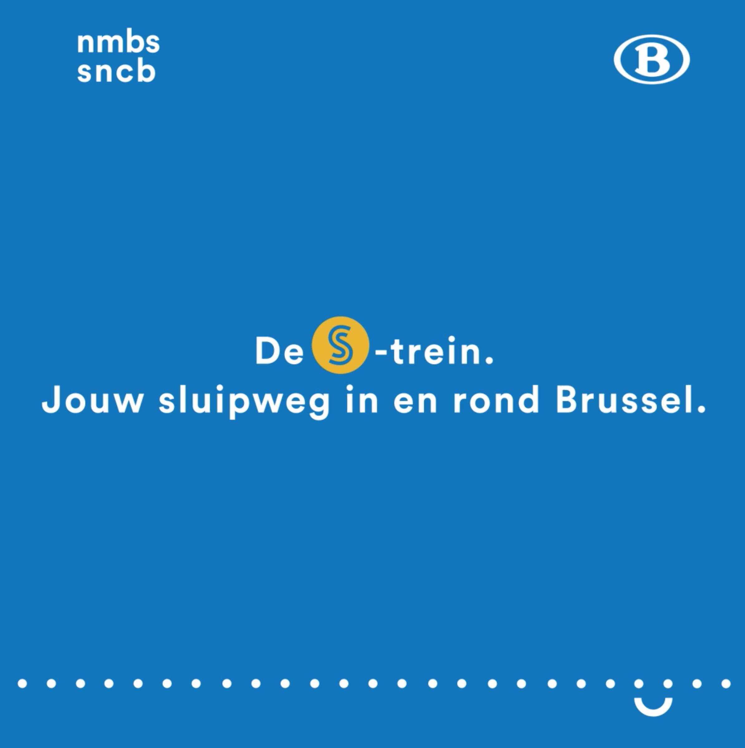 Campagne S-Trein pour la SNCB