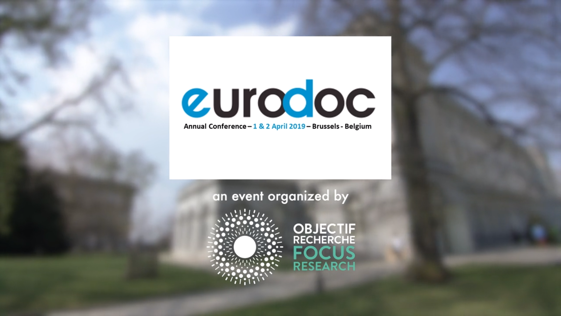 Eurodoc Event in Brussels