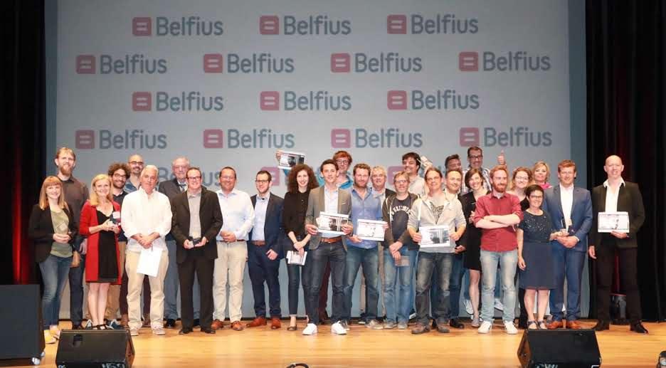 Uberize Me, gagnant du Prix Belfius 2017